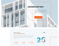 Construction website - StavbyKasl.cz