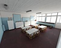 Custom made furniture for kindergarten's school class