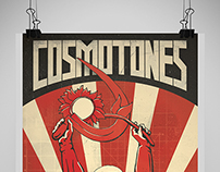 Cosmotones Gig Poster