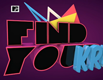 FIND YOUR KRUSH / KFC / MTV