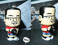FAUZY HELMY TOY FIGURE