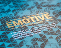 Emotive: Design for Another | Senior Show Poster