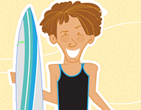 Many faces of a surfer guy!!!