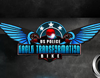 us police eagle transformation bike