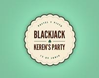 """Blackjack Keren's Party"" Artwork"
