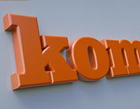 KOMODO - LOGO DESIGN 2D/3D