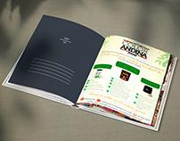 Anúncio Revista para - Color Andina