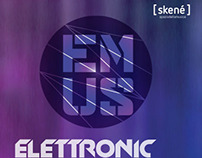 ELETTRONIC MUSIC POSTER GRAPHIC DESIGN