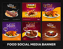 Food Social Media Banner - restaurants banner