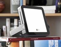 LG OLED Portable Lamp