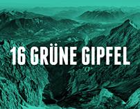 16 Grüne Gipfel