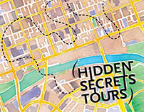 Hidden Secret Tours Promotional Material