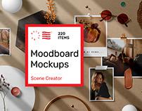 Moodboard Mockups