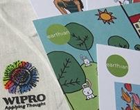 Illustrations for Wipro Earthian