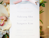 Nakyung & Sungmin Wedding Program