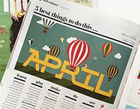 DallasChild Magazine | Editorial Illustration