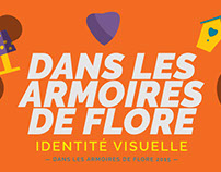 Logo - Dans les armoires de Flore