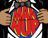 Man Nup cover art & banners