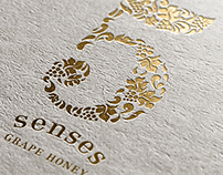 5 Senses Identity & Packaging