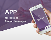 App for learning foreign languages