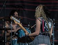 Barb Wire Dolls Vans Warped Tour 2017 Seattle, WA