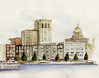Savannah: City, Ward, Place