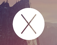 Mac OS X Yosemite with a hint of iOS 7 Vibrancy
