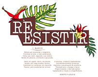Coleção: Resistir {design de superfície}