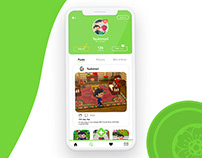 User profile for Animal Crossing - Daily UI 006