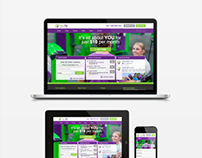 Youfit Health Clubs Responsive Website