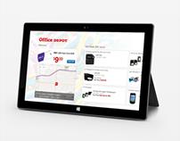 Office Depot Windows 8 Application
