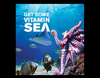 Vitamin Sea - Ad Campaign for Aquarium