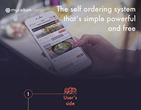 Self ordering system