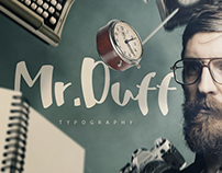 Mr. Duff Marker Typeface
