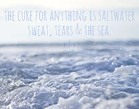 saltwater is the cure.