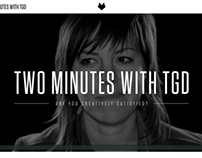 Two Minutes with TGD: Website