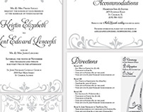 Kristin & Kent Wedding Invitations