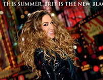 """""""Brit In the City"""" Parody Poster"""