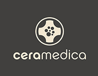 Ceramedica - Direct Invitation - Logo Design