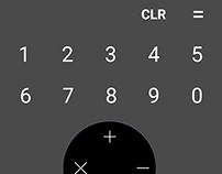 Daily UI - 004 - Calculator