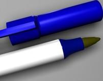 Bic Blue Ink Pens