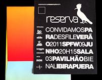 Reserva | SS 2011 | Fashion Show Invitation