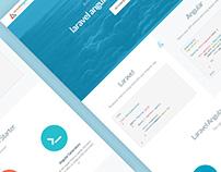 Laravel Angular Material Starter | Landing Page