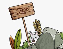 Illustration - Follow the rabbit
