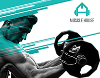 Muscle House Branding