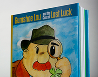 Gumshoe Lou - Book Jacket