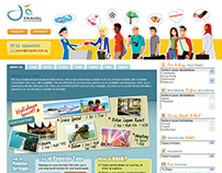 Web Design - JA Travel