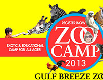 Gulf Breeze Zoo Camp Registration