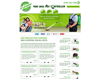 Web Solution - Dry Master Pest Control - Sydney