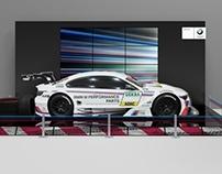 BMW стенд на Moscow Raceway